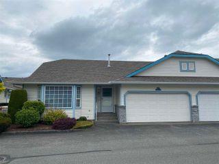 "Photo 1: 13 45175 WELLS Road in Chilliwack: Sardis West Vedder Rd Townhouse for sale in ""Wellsbrooke"" (Sardis)  : MLS®# R2585586"