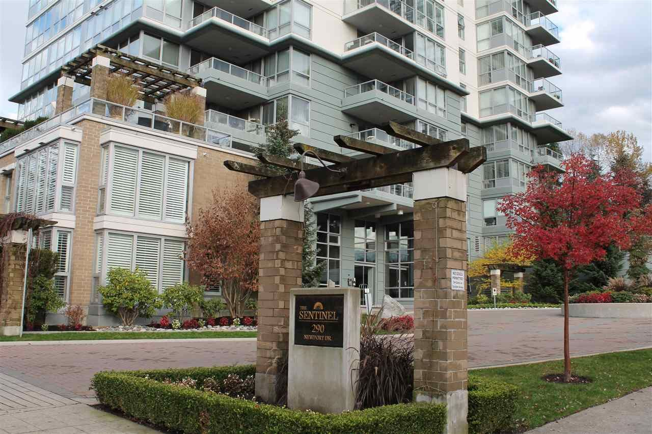 "Main Photo: 1901 290 NEWPORT Drive in Port Moody: North Shore Pt Moody Condo for sale in ""THE SENTINEL"" : MLS®# R2122647"