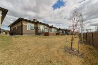 Photo 44: 910 WOOD Place in Edmonton: Zone 56 House Half Duplex for sale : MLS®# E4239285