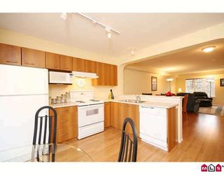 """Photo 4: 84 20176 68TH Avenue in Langley: Willoughby Heights Townhouse for sale in """"STEEPLE CHASE"""" : MLS®# F2906802"""