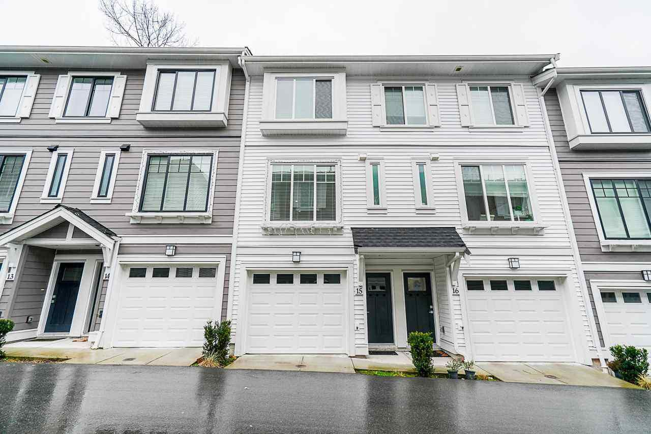 Main Photo: 15 19299 64 Avenue in Surrey: Clayton Townhouse for sale (Cloverdale)  : MLS®# R2560201