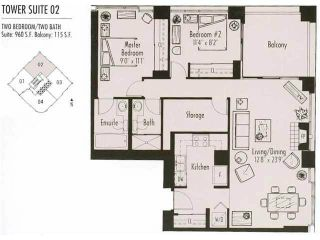 """Photo 5: 3002 183 KEEFER Place in Vancouver: Downtown VW Condo for sale in """"Paris Place"""" (Vancouver West)  : MLS®# V1079874"""