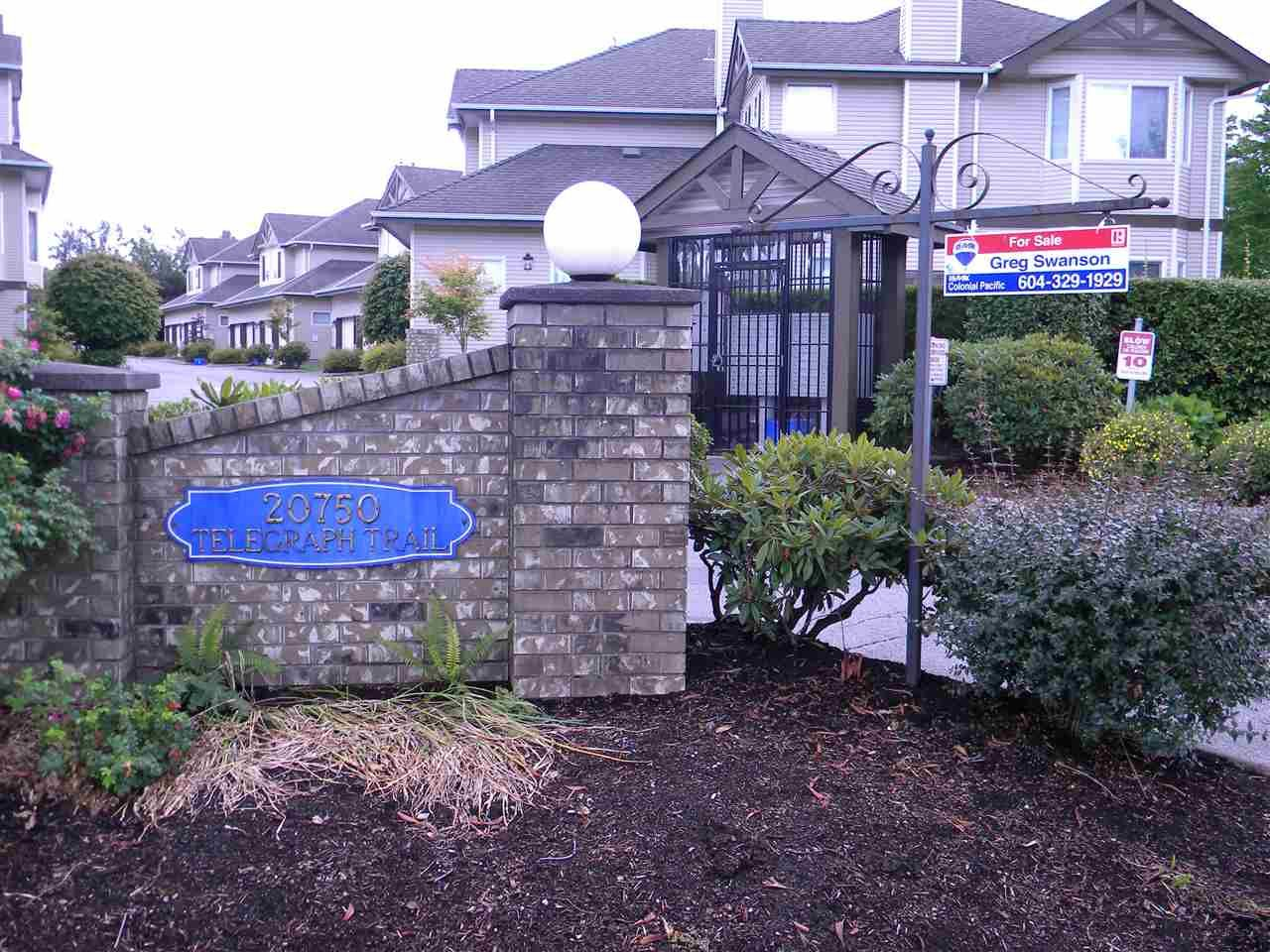 """Main Photo: 6 20750 TELEGRAPH Trail in Langley: Walnut Grove Townhouse for sale in """"Heritage Glen"""" : MLS®# R2081059"""
