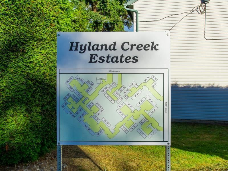 "Main Photo: 155 13754 67 Avenue in Surrey: East Newton Townhouse for sale in ""Hyland Creek Estates"" : MLS®# R2425800"