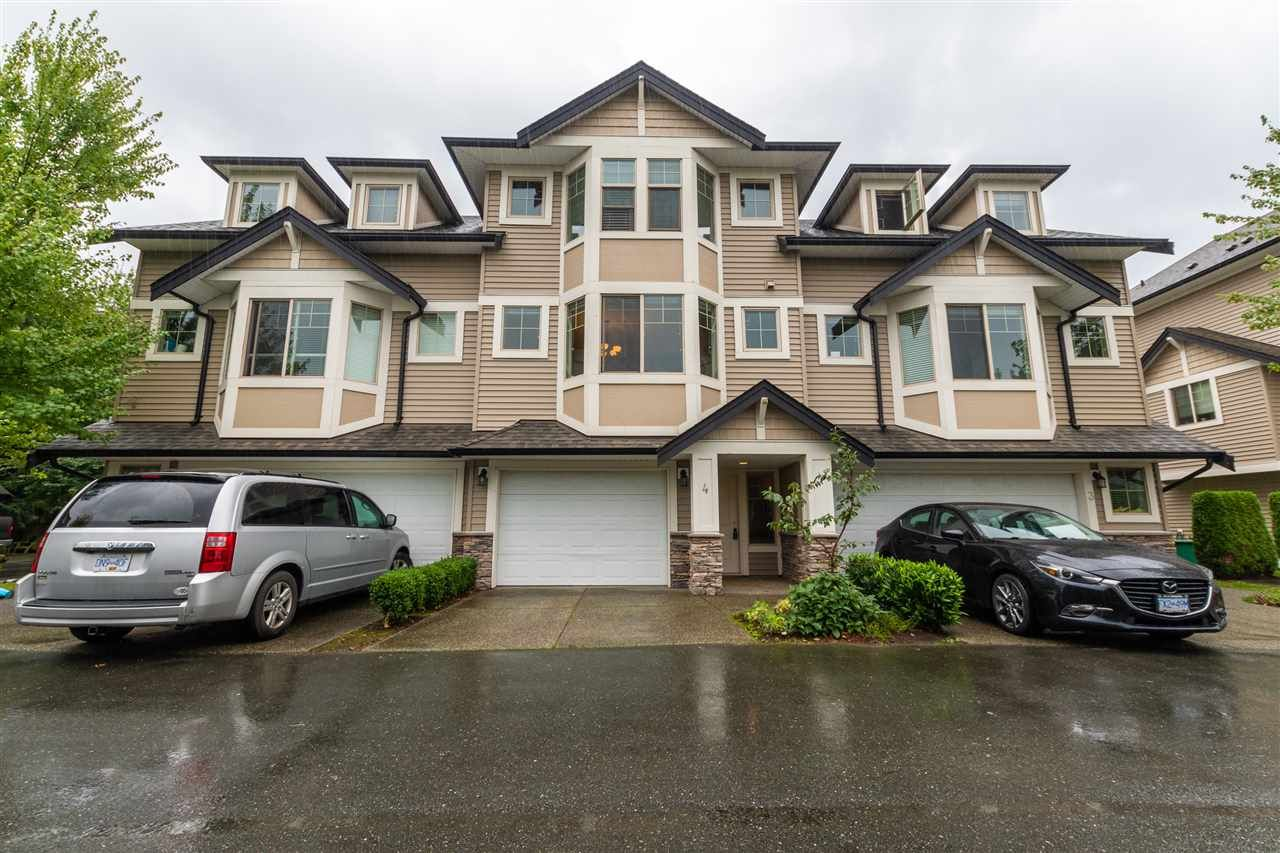 "Main Photo: 4 9280 BROADWAY Road in Chilliwack: Chilliwack E Young-Yale Townhouse for sale in ""FARRINGTON"" : MLS®# R2501020"