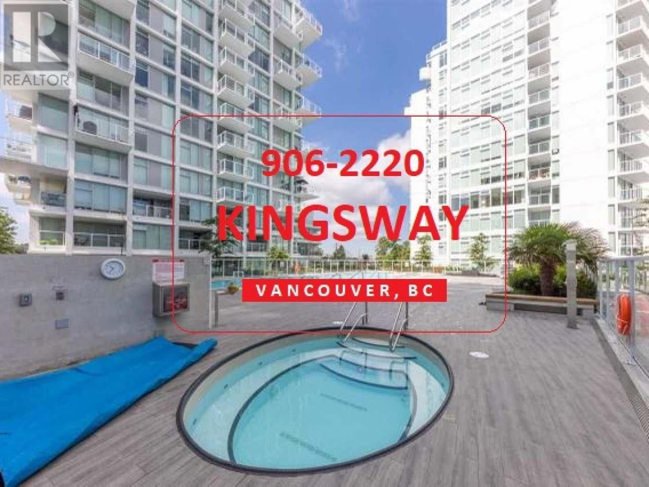 Main Photo: 906-2220 KINGSWAY in Out of Board Area: House for sale : MLS®# 15551