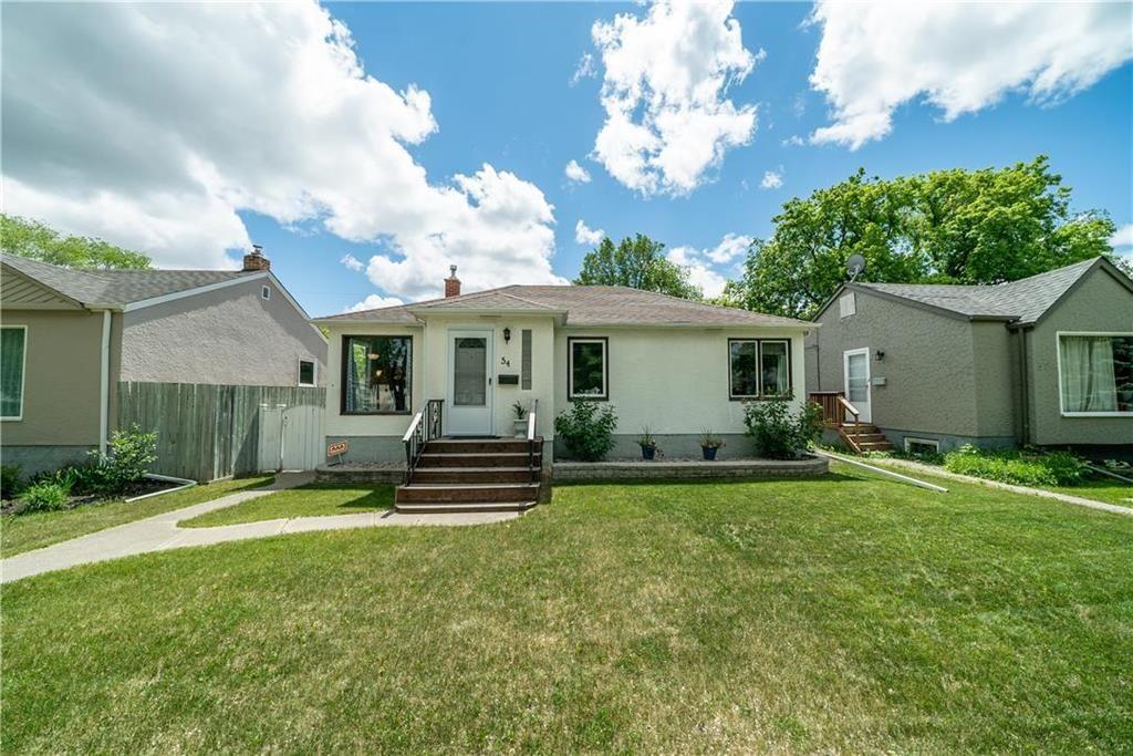 Main Photo: 54 FERNWOOD Avenue in Winnipeg: St Vital Residential for sale (2D)  : MLS®# 202115157
