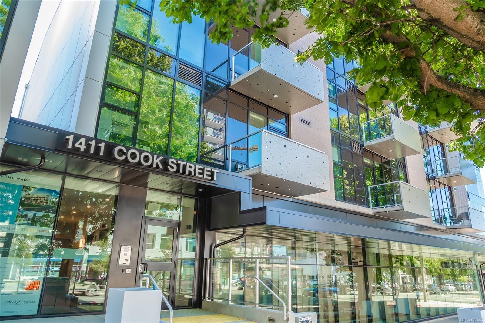 Main Photo: 411 1411 Cook St in : Vi Downtown Condo for sale (Victoria)  : MLS®# 877902