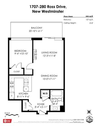 """Photo 17: 1707 280 ROSS Drive in New Westminster: Fraserview NW Condo for sale in """"THE CARLYLE"""" : MLS®# R2502203"""