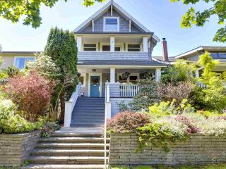 """Main Photo: 4424 W 8TH Avenue in Vancouver: Point Grey House for sale in """"POINT GREY"""" (Vancouver West)  : MLS®# R2582860"""