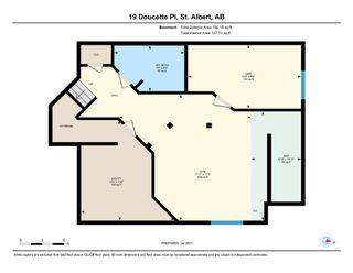Photo 42: 19 DOUCETTE Place: St. Albert House for sale : MLS®# E4256586