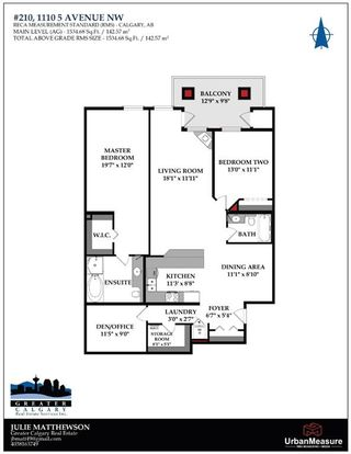 Photo 40: 210 1110 5 Avenue NW in Calgary: Hillhurst Apartment for sale : MLS®# A1072681