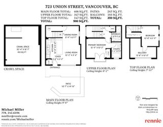 """Photo 36: 723 UNION Street in Vancouver: Strathcona 1/2 Duplex for sale in """"Union Crossing"""" (Vancouver East)  : MLS®# R2617082"""