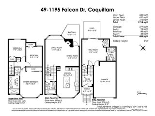 """Photo 20: 49 1195 FALCON Drive in Coquitlam: Eagle Ridge CQ Townhouse for sale in """"THE COURTYARDS"""" : MLS®# R2447677"""