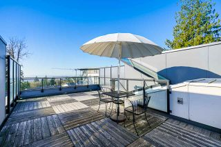 """Photo 1: 311 9350 UNIVERSITY HIGH Street in Burnaby: Simon Fraser Univer. Townhouse for sale in """"LIFT"""" (Burnaby North)  : MLS®# R2575953"""