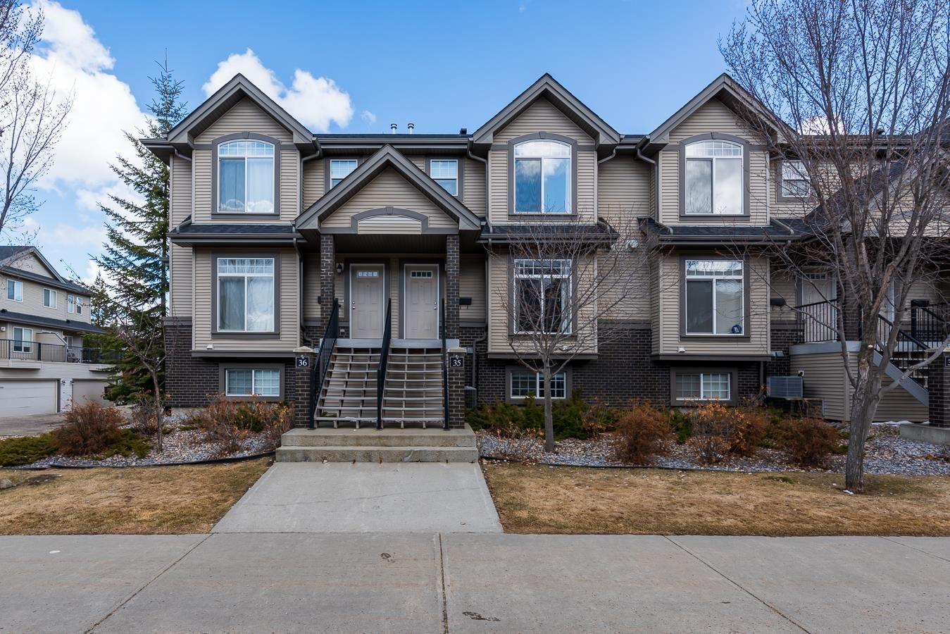 Main Photo: 35 4731 TERWILLEGAR Common in Edmonton: Zone 14 Townhouse for sale : MLS®# E4254467