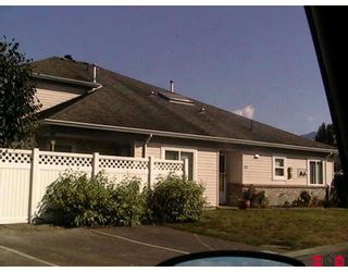 """Photo 1: 195 8485 YOUNG Road in Chilliwack: Chilliwack W Young-Well 1/2 Duplex for sale in """"HAZELNUT GROVE"""" : MLS®# H2800058"""