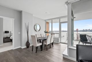 "Photo 2: 702 118 CARRIE CATES Court in Vancouver: Lower Lonsdale Condo for sale in ""Promenade at the Quay"" (North Vancouver)  : MLS®# R2561959"