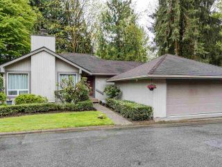 """Photo 1: 9502 WILLOWLEAF Place in Burnaby: Forest Hills BN Townhouse for sale in """"Willowleaf"""" (Burnaby North)  : MLS®# R2588078"""