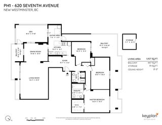 """Photo 2: PH1 620 SEVENTH Avenue in New Westminster: Uptown NW Condo for sale in """"CHARTER HOUSE"""" : MLS®# R2549266"""