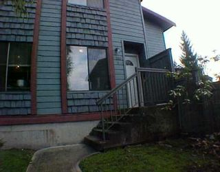 """Photo 1: 4 306 HIGHLAND WY in Port Moody: North Shore Pt Moody Townhouse for sale in """"HIGHLAND PARK"""" : MLS®# V571371"""