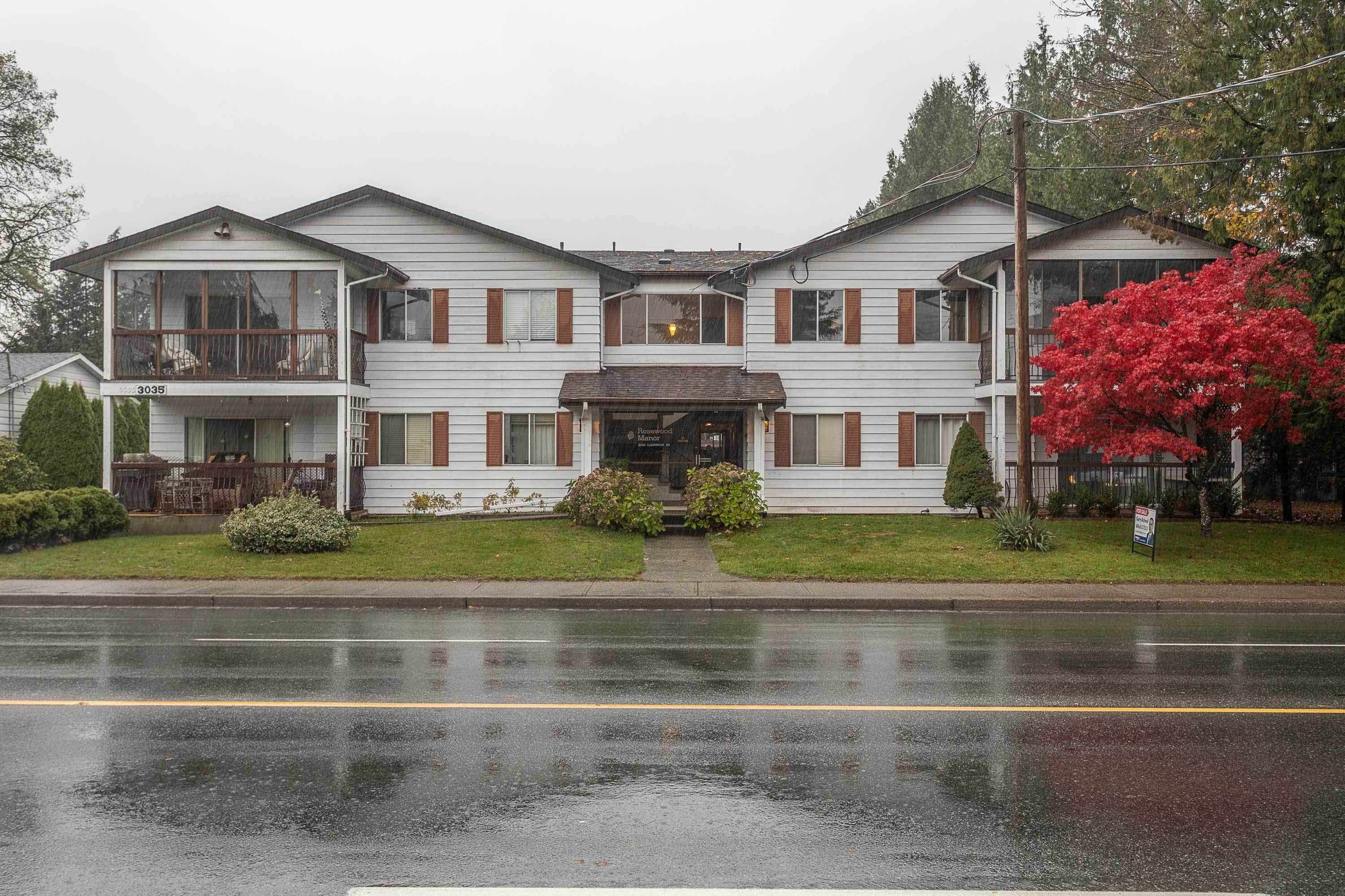 Main Photo: 204 3035 CLEARBROOK Road in Abbotsford: Abbotsford West Condo for sale : MLS®# R2617506