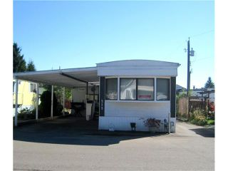 """Main Photo: 213 201 CAYER Street in Coquitlam: Maillardville Manufactured Home for sale in """"WILDWOOD PARK"""" : MLS®# V1058709"""