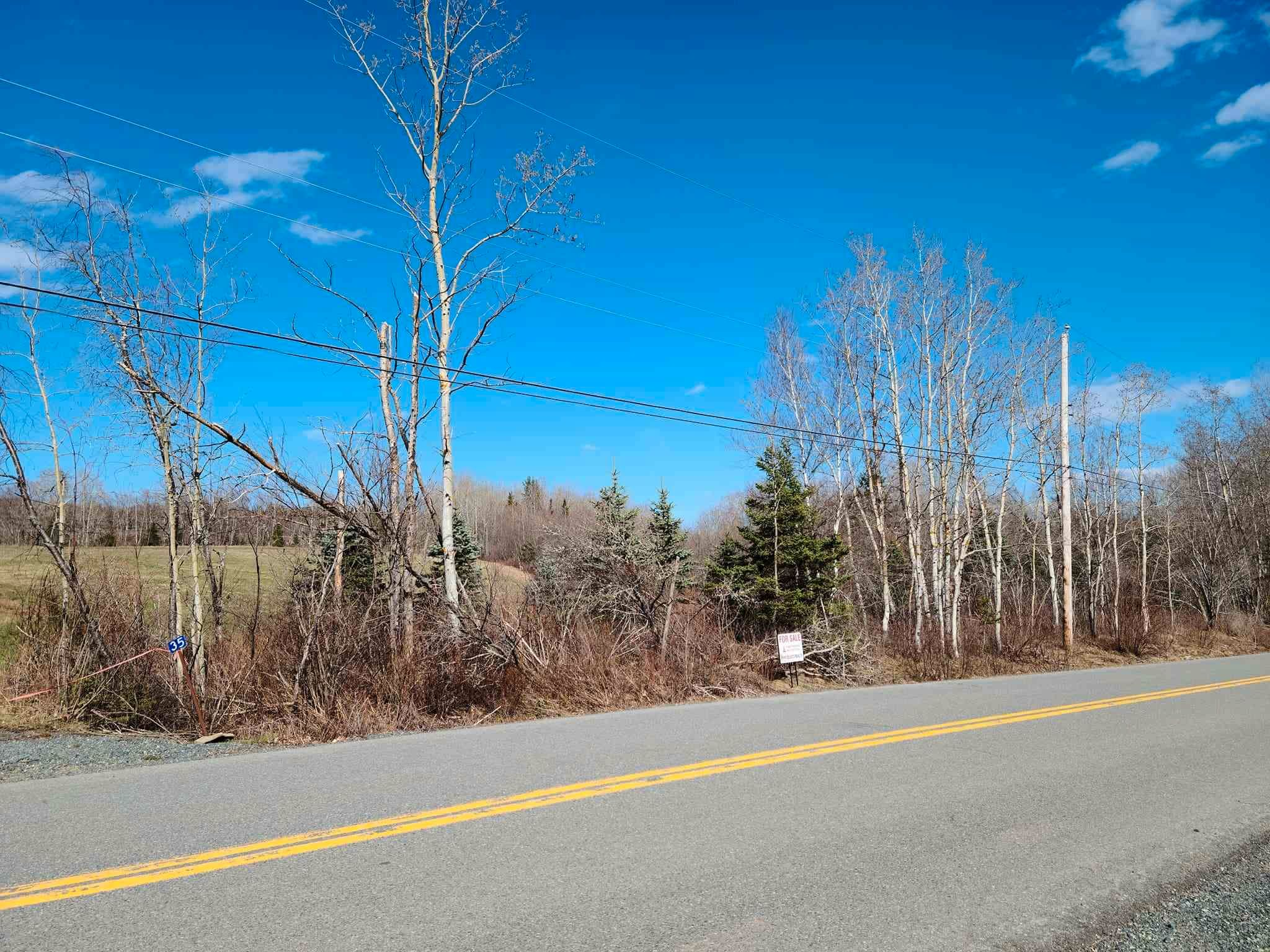 Main Photo: 35 Valley Road in Westchester Station: 103-Malagash, Wentworth Vacant Land for sale (Northern Region)  : MLS®# 202109984