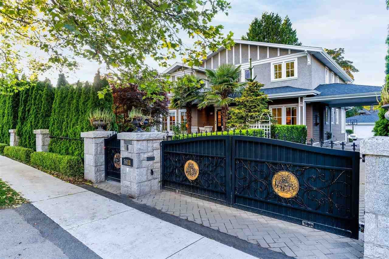 Main Photo: 5611 UNIVERSITY Boulevard in Vancouver: University VW House for sale (Vancouver West)  : MLS®# R2591780
