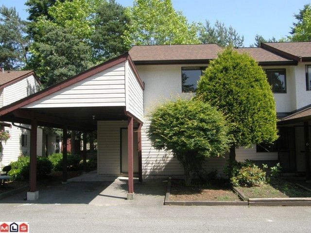 """Main Photo: 5 13990 74TH Avenue in Surrey: East Newton Townhouse for sale in """"WEDGEWOOD ESTATES"""" : MLS®# F1226580"""