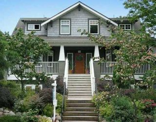 Photo 1: 316 W 14TH AV in Vancouver: Mount Pleasant VW Townhouse for sale (Vancouver West)  : MLS®# V609729