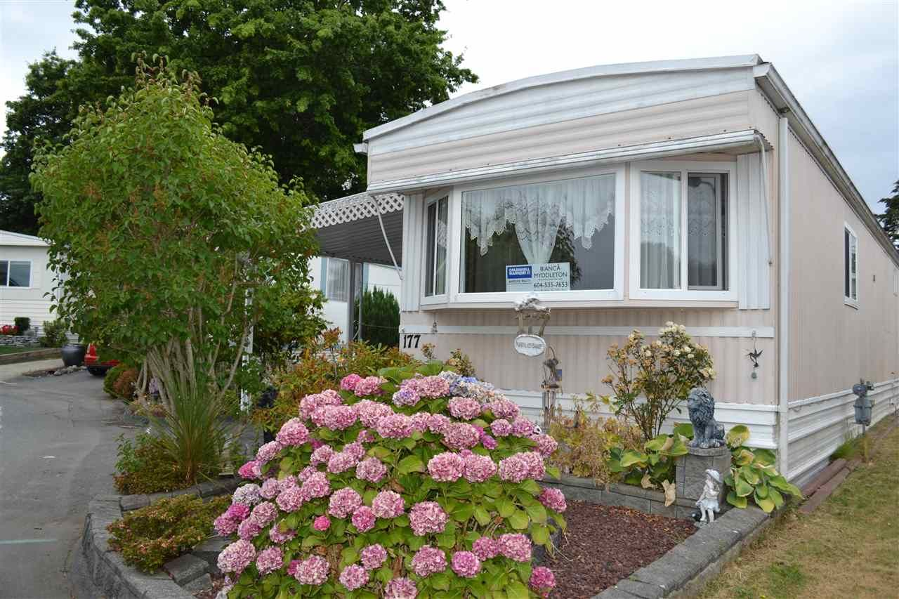 """Main Photo: 177 1840 160 Street in Surrey: King George Corridor Manufactured Home for sale in """"Breakaway Bays"""" (South Surrey White Rock)  : MLS®# R2316693"""