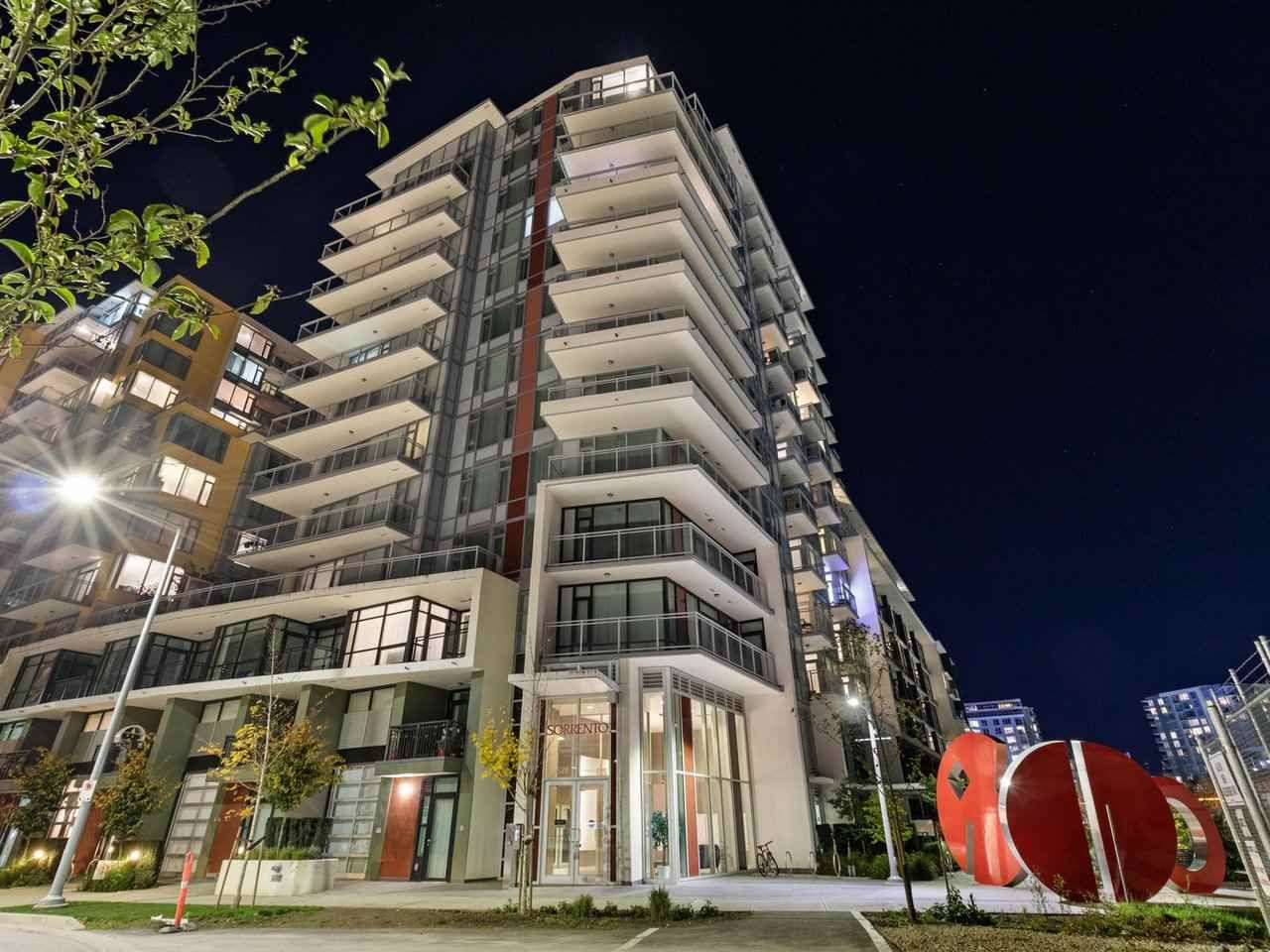 Main Photo: 1107 8628 HAZELBRIDGE Way in Richmond: West Cambie Condo for sale : MLS®# R2516316