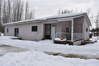 """Photo 1: 650 FIR Street in Quesnel: Red Bluff/Dragon Lake Manufactured Home for sale in """"RED BLUFF"""" (Quesnel (Zone 28))  : MLS®# R2546733"""