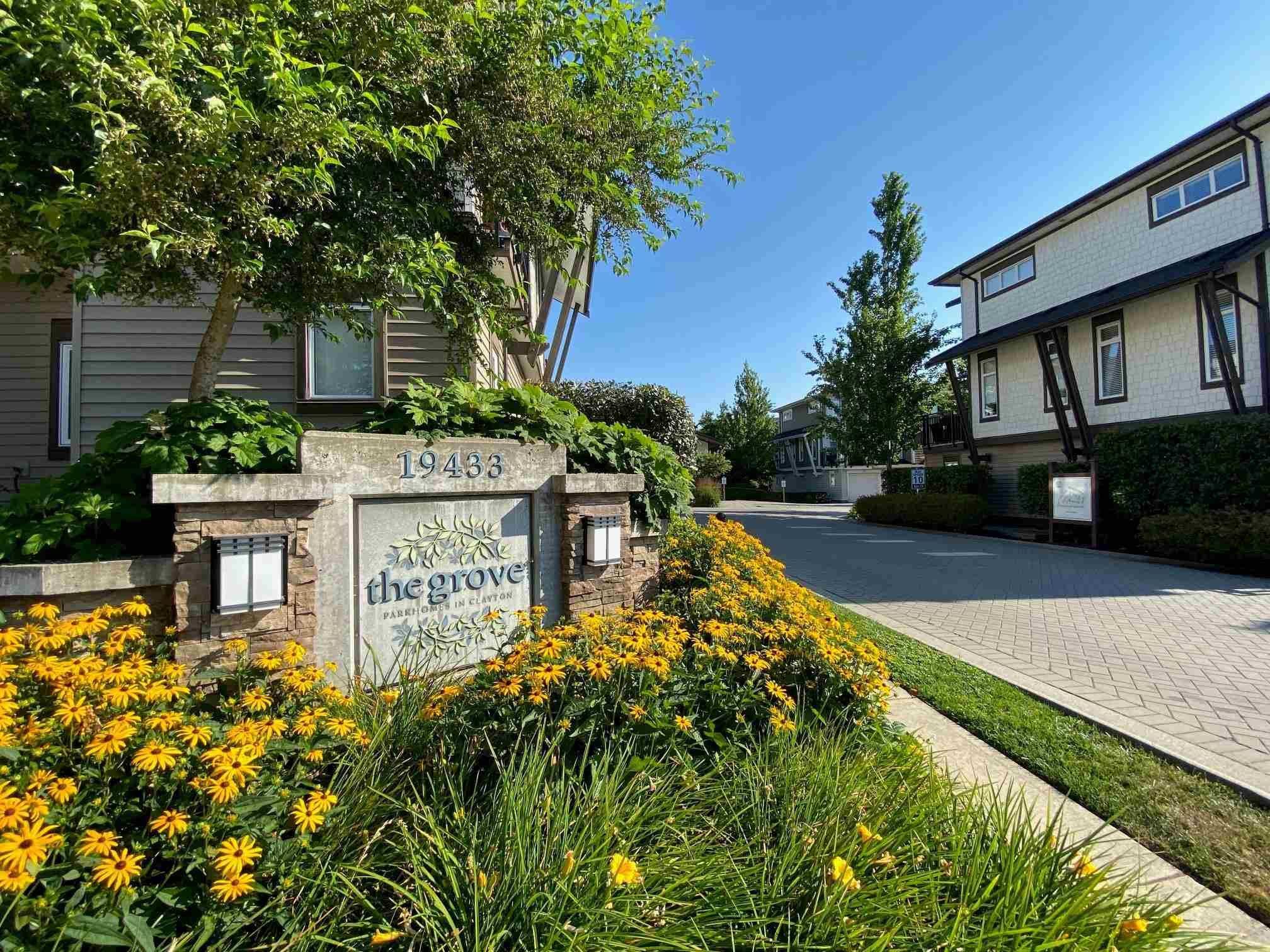 """Main Photo: 134 19433 68TH Avenue in Surrey: Clayton Townhouse for sale in """"The Grove"""" (Cloverdale)  : MLS®# R2599425"""