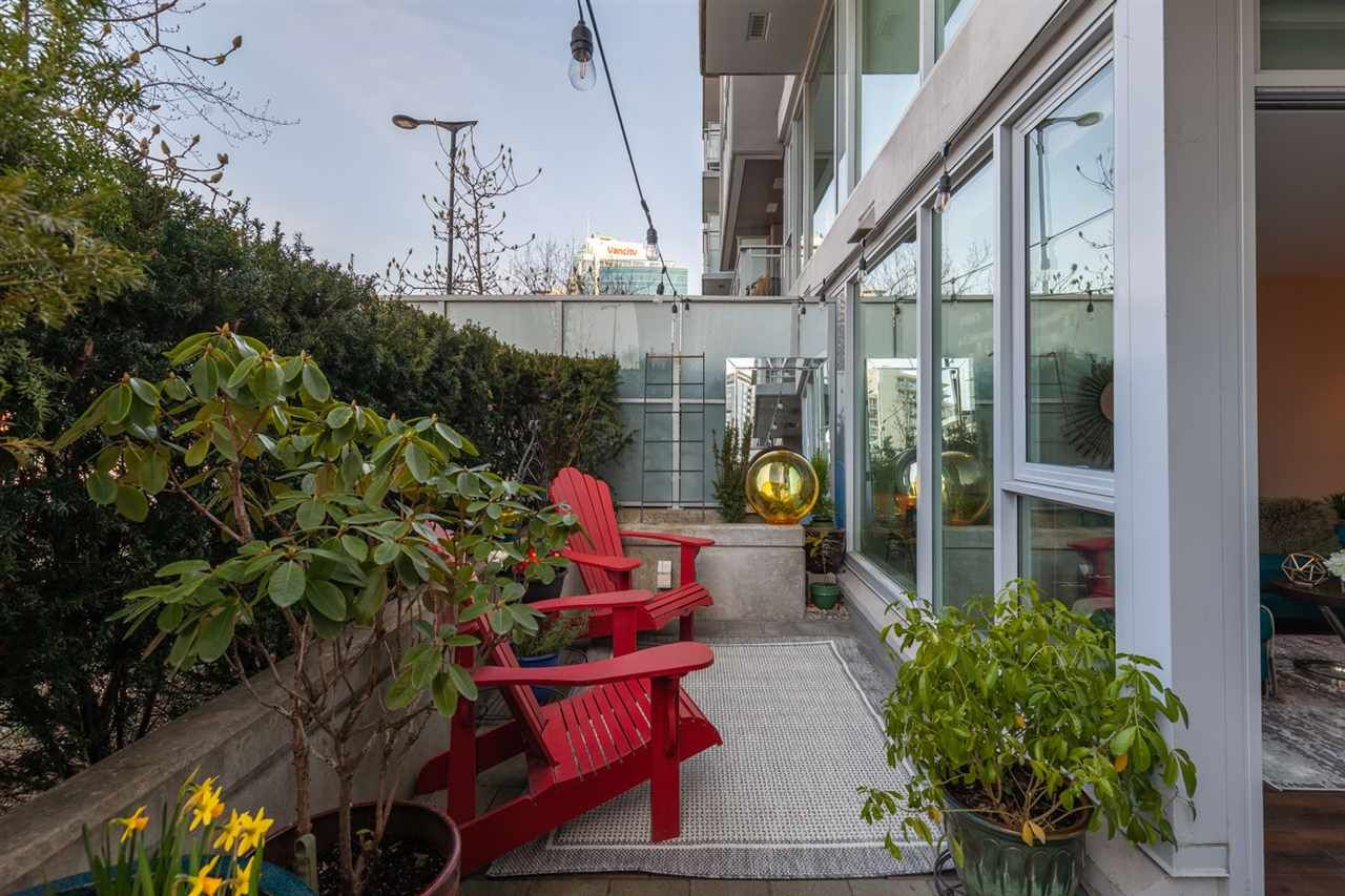 """Main Photo: 106 1618 QUEBEC Street in Vancouver: Mount Pleasant VE Condo for sale in """"CENTRAL"""" (Vancouver East)  : MLS®# R2549897"""