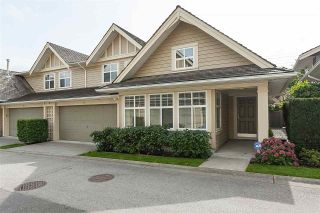"""Photo 1: 84 15500 ROSEMARY HEIGHTS Crescent in Surrey: Morgan Creek Townhouse for sale in """"CARRINGTON, Sunny South Facing"""" (South Surrey White Rock)  : MLS®# R2404130"""
