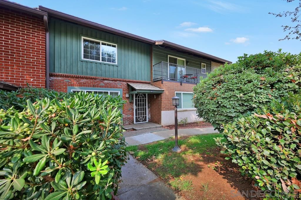 Main Photo: EL CAJON Townhouse for sale : 2 bedrooms : 749 S Mollison #23