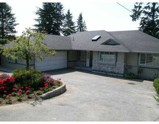 """Photo 1: 4697 RANGER Avenue in North_Vancouver: Canyon Heights NV House for sale in """"CANYON HEIGHTS"""" (North Vancouver)  : MLS®# V658683"""