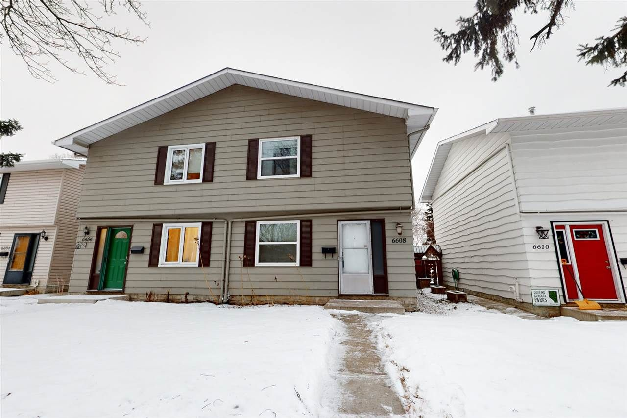 Main Photo: 6608 106 Street in Edmonton: Zone 15 House Half Duplex for sale : MLS®# E4226690