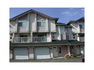 Photo 1: 26 2538 PITT RIVER Road in Port Coquitlam: Mary Hill Townhouse for sale : MLS®# V863108
