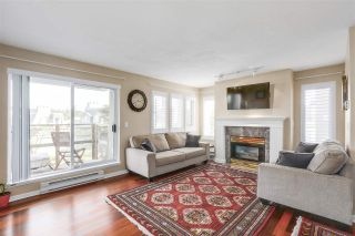 """Photo 5: 102 219 BEGIN Street in Coquitlam: Maillardville Townhouse for sale in """"PLACE FOUNTAINE BLEU"""" : MLS®# R2206798"""