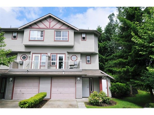 Main Photo: # 42 11229 232ND ST in Maple Ridge: East Central Townhouse for sale : MLS®# V1009171
