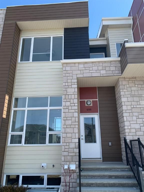 Main Photo: 406 1530 bayside Avenue SW: Airdrie Row/Townhouse for sale : MLS®# A1017179
