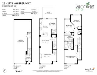 """Photo 38: 26 2978 WHISPER Way in Coquitlam: Westwood Plateau Townhouse for sale in """"WHISPER RIDGE"""" : MLS®# R2594115"""