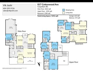 """Photo 40: 817 COTTONWOOD Avenue in Coquitlam: Coquitlam West House for sale in """"Central Coquitlam"""" : MLS®# R2593554"""