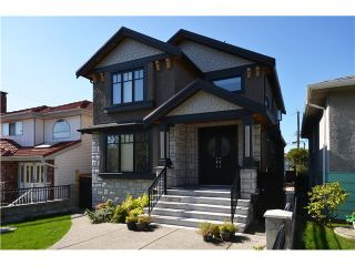Photo 1: 7229 FLEMING ST in Vancouver: Fraserview VE House for sale (Vancouver East)  : MLS®# V1088014