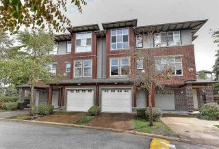 """Photo 1: 63 18777 68A Avenue in Surrey: Clayton Townhouse for sale in """"THE COMPASS"""" (Cloverdale)  : MLS®# R2295313"""