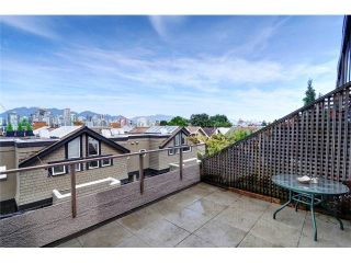 """Photo 10: 1169 W 8TH Avenue in Vancouver: Fairview VW Townhouse for sale in """"FAIRVIEW 2"""" (Vancouver West)  : MLS®# V970700"""