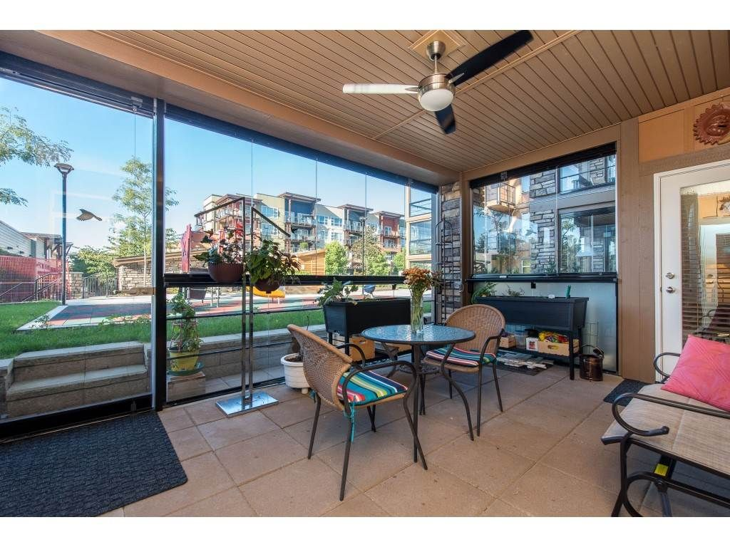 """Photo 26: Photos: A110 20716 WILLOUGHBY TOWN CENTRE Drive in Langley: Willoughby Heights Condo for sale in """"Yorkson Downs"""" : MLS®# R2491391"""